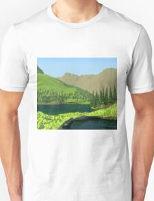 Polygon Hills Unisex T-Shirt