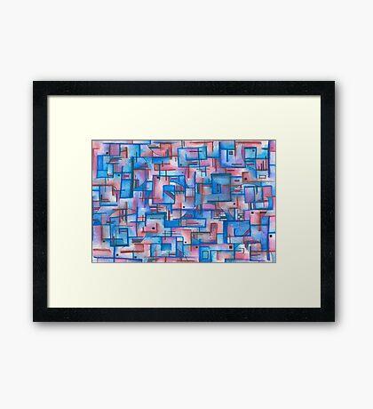 Puzzle - 01-12 Framed Print