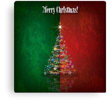 Merry Christmas - Tree Design 01 Canvas Print