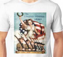 World War II Poster - US Army  Unisex T-Shirt