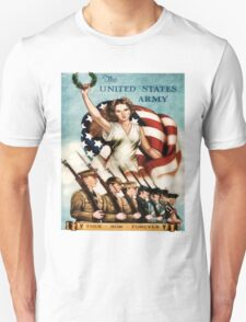World War II Poster - US Army  T-Shirt