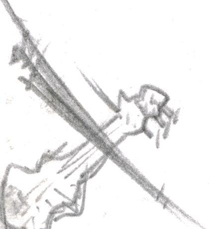 The Violin Sticker
