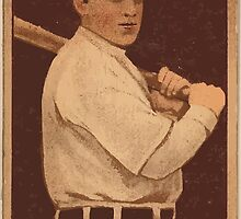 Benjamin K Edwards Collection William Lawrence Gardner Boston Red Sox baseball card portrait by wetdryvac