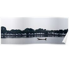 Paddling on the Hoan Kiem Poster