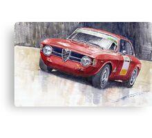 Alfa Romeo Giulie Sprint GT 1966 Canvas Print
