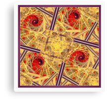 Swirling and Dancing Canvas Print