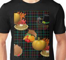 thanksgiving plaid Unisex T-Shirt
