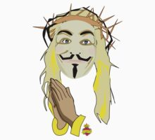 jesus supports anonymous by 2piu2design