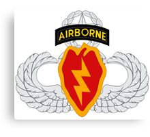 4th BCT Airborne 25th Infantry Canvas Print