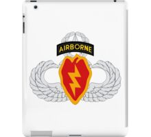 4th BCT Airborne 25th Infantry iPad Case/Skin