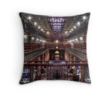 Mortlock Library Throw Pillow