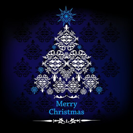 Merry Christmas - Tree Design 02