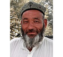 An Uyghur in Beijing Photographic Print