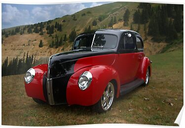 1939 Ford Custom Sedan Hot Rod by TeeMack
