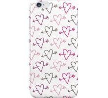 pierced hearts iPhone Case/Skin