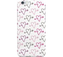 pierced hearts iPhone Case/Skin
