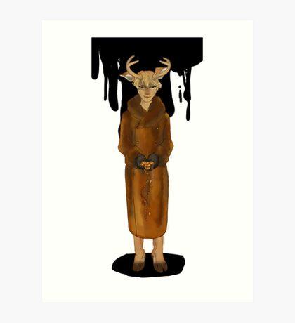 Dear Deer Demon Art Print
