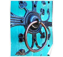 Ornate Door Knocker Poster