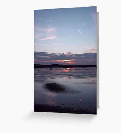 Salthouse Marshes Greeting Card