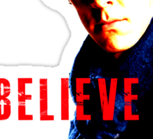 I believe in Sherlock Holmes. Sticker