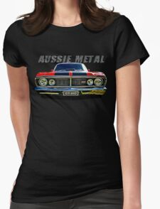 Aussie Metal Ford GTHO Womens Fitted T-Shirt