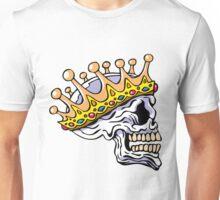 King Skull Crown of Kings Unisex T-Shirt