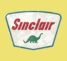 Vintage Sinclair logo Baby Tee