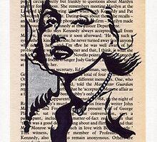 Marilyn bibliograph #1 by wu-wei