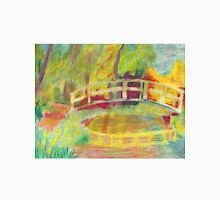 Monet's Japanese Bridge- Color Unisex T-Shirt