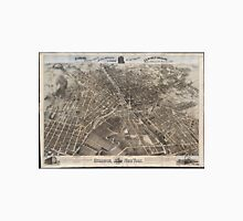 Vintage Pictorial Map of Syracuse New York (1874) Unisex T-Shirt