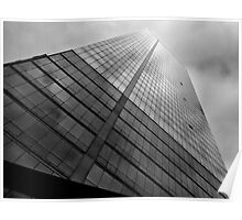 Reflective Building White Plains NY Poster