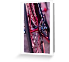 color of the wheel Greeting Card