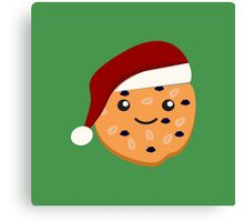 Cute Christmas Cookie Canvas Print