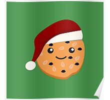 Cute Christmas Cookie Poster