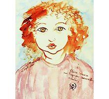 Alice Still In Wonderland Photographic Print