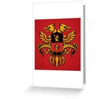Crest de Chocobo Greeting Card
