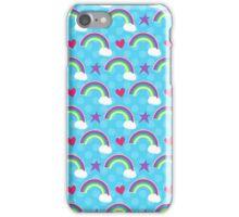Rainbows, Hearts & Stars  iPhone Case/Skin