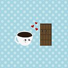 Coffee & Chocolate Love  by runninragged