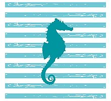AFE Mint Seahorse  Photographic Print