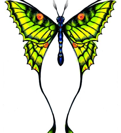False Insect - Dream Butterfly Sticker