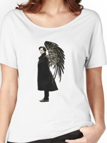 side of angels -large Women's Relaxed Fit T-Shirt