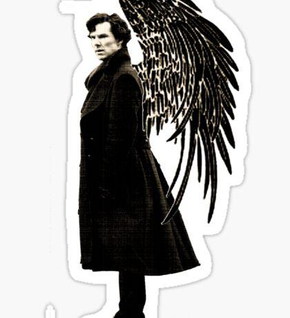 side of angels -large Sticker