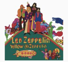 Led Zeppelin Yellow Submarine T-Shirt