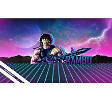 Rambo 80's Future Photographic Print