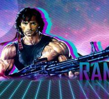 Rambo 80's Future Sticker