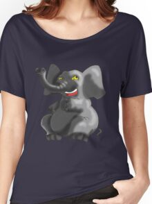 Psycho Elephant Women's Relaxed Fit T-Shirt