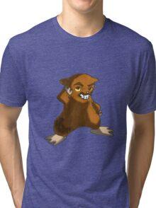 Super Model Hamster Tri-blend T-Shirt