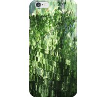 Green Watertiles - JUSTART © iPhone Case/Skin