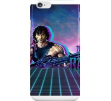 Rambo 80's Future iPhone Case/Skin