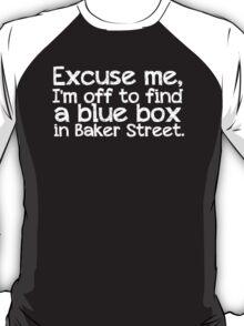 Blue Box in Baker Street T-Shirt